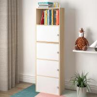 组合收纳置物书柜宜家家居收纳储物木柜书橱带书橱旗舰家具店