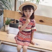 女童夏装2018新款3童装4女孩裙子5宝宝洋气6岁儿童公主连衣裙