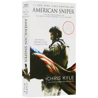华研原版 美国狙击手 英文原版自传体小说 American Sniper 全英文版书 进口英语书籍 伊拉克战争
