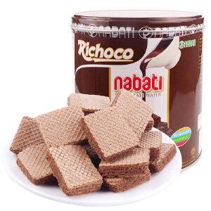 印尼进口 丽巧克纳宝帝巧克力味威化饼干 350g