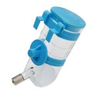 宠物【饮水器】弹簧滚珠式 挂式狗水壶饮水器 350ml 颜色* 180301028