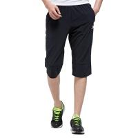 特步男子运动七分短裤 夏季透气休闲运动裤983229800023