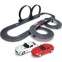 音速风暴 轨道赛车 电动遥控轨道汽车 儿童玩具套装 8米双人电动TR-05
