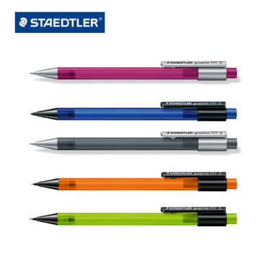 德国STAEDTLER施德楼 777自动铅笔 0.5 0.7 mm彩色办公/学生活动铅笔按动铅笔
