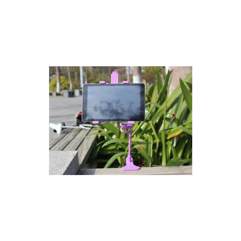 平板电脑支架 床头桌面 ipad air mini懒人支架 黑色