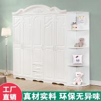 20190709084750914简易经济型欧式板式非实木质卧室组合衣柜二2三3四4五5白色大衣橱