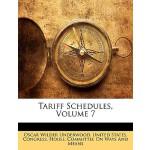 【预订】Tariff Schedules, Volume 7