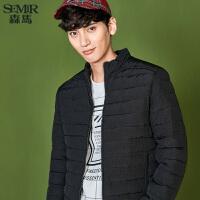 森马棉衣男2017冬季新款外套男士韩版潮流修身棉袄商务青年棉服