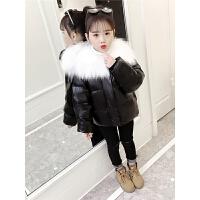 短款韩版洋气中大儿童冬装棉袄小女孩外套女童面包服棉衣