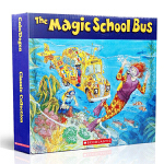 Magic School Bus 神奇校车系列 英文原版 6册 科普绘本附CD