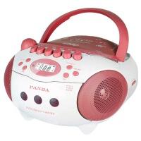 【当当自营】 熊猫/PANDA CD-610 cd机|胎教机 录音机 收音/DVD复读机 播放机 红色