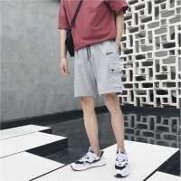 裤子男士韩版潮流运动裤 夏季新款港风五分裤嘻哈休闲短裤