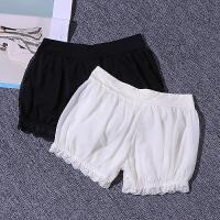 夏季女士外穿安全裤防蕾丝短裤灯笼南瓜裤三分保险裤打底短裤 均码