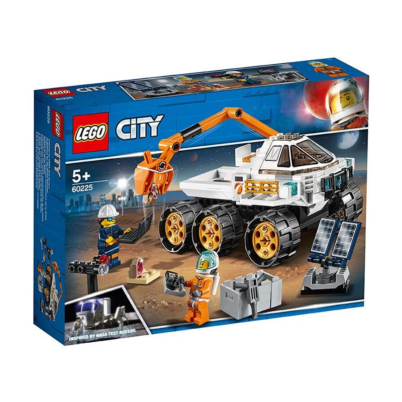 【当当自营】LEGO乐高积木城市组City系列60225 火星科学探测 【乐高圣诞倒计时】和宇航员一起使用火星探测器探索并搜集数据