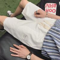 夏季短裤男士休闲裤五分裤宽松沙滩裤潮流韩版裤子文艺夏天原宿风