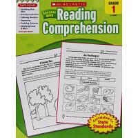 正版 scholastic Success with Reading comprehension grade 1 英文