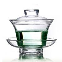 功夫茶具 玻璃茶具 玻璃杯耐热玻璃盖碗功夫茶具 玻璃茶具 玻璃杯