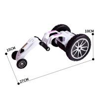 儿童充电遥控车 创意电动特技伸缩翻斗车 无线灯光遥控汽车玩具