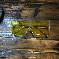 2018sl欧美风太阳眼镜小白网红明星同款墨镜女超大方框