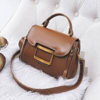 小包包女冬季新款复古水桶包韩版时尚单肩斜挎女包百搭手提包