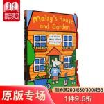 小鼠波波系列Maisy's House and Garden梅西的房子和花园 立体书