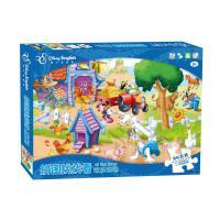 迪士尼拼图 英语找找看 米奇欢乐农场 儿童益智双语学习拼图 DP04-01