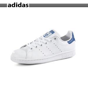正品ADIDAS阿迪达斯STAN SMITH J史密斯经典男女小白鞋S74778