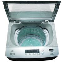 双鹿 XQB70-168G 8.5公斤 全自动波轮洗衣机 一键脱水(钛空银)