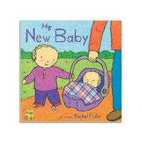 My New Baby 英文原版 儿童英语读物书籍 华研原版 英语绘本 进口正版书籍