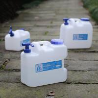 户外水桶家用矿泉水水箱超轻便携车载塑料储水桶