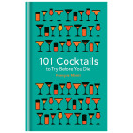 101 Cocktails to try before you die,生前必喝的101种鸡尾酒 英文原版餐饮生活