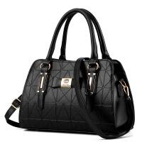 新款欧美女包简约手提包中年百搭休闲韩版单肩女士包包斜跨大包潮