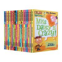 疯狂学校英文原版小说 My Weird School 第一季21册套装 儿童章节书 美国小学推荐