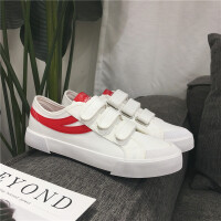 春季新款男士帆布鞋子低帮男鞋韩版休闲鞋潮学生运动板鞋6810
