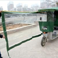 电动三轮车车棚雨棚遮阳棚挡雨棚封闭车篷方管折叠加厚快递