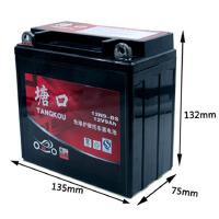 摩托车电瓶12N9免维护通用铃木王钻豹太子钱江12V9AH摩托车电池