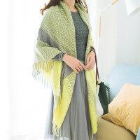 女学生仿羊绒围巾两用保暖百搭长款围脖空调防寒披肩