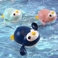 网红发条企鹅呆萌儿童宝宝1-3-6岁2洗澡沙滩戏水玩水抖音同款玩具