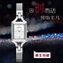 EMPORIO ARMANI 阿玛尼手表,经典时尚时装方形腕表女士石英手表 商务简约