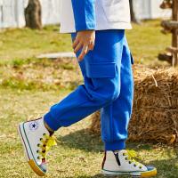 【2件3折到手价:71】小猪班纳童装男童长裤2020春季新款罗纹束脚裤儿童休闲裤针织裤潮
