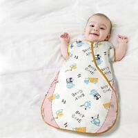 babycare纱布防踢被儿童睡袋婴儿春秋薄款夏季宝宝睡袋防踢被婴儿