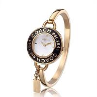 COACH 蔻驰(COACH) 复古手镯式女士石英手表