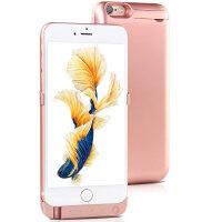 苹果手机壳充电宝iphone6s 4.7寸10000毫安背夹电池后壳移动电源苹果6Splus5.5寸10000毫安手机壳套无线充电宝