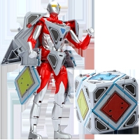 ��F�w��之�W特曼崛起�和��形玩具超人金��套�b人偶蛋�C器人