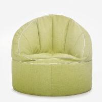 休闲小沙发简约时尚布艺懒人沙发创意单人客厅榻榻米椅床豆袋