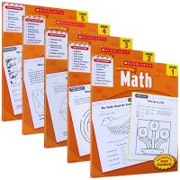 Scholastic Success with Math 1-5 美国小学一至五年级数学练习册 英文原版 英文版 进口书
