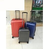 万向轮拉杆箱旅行箱行李箱20/24/28寸男女通用好品质 桔红色 24寸