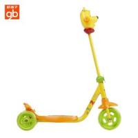 好孩子儿童三轮滑板车 goodbaby小熊维尼宝宝玩具车 SC303-L004D