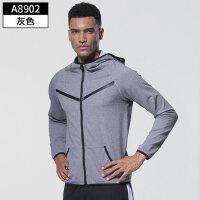 运动上衣男跑步训练服篮球长袖健身衣速干卫衣高弹宽松外套