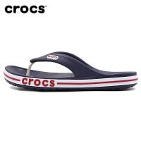 幸运叶子 Crocs卡骆驰男鞋夏季新款运动鞋外穿人字拖室外拖鞋潮205393